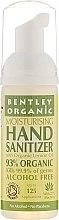 Parfumuri și produse cosmetice Dezinfectant bio de mâini cu ulei organic de aloe vera - Bentley Organic Moisturising Hand Sanitizer