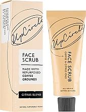 """Parfumuri și produse cosmetice Scrub pentru față """"Citrus"""" - UpCircle Coffee Face Scrub Citrus Blend"""