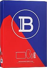 Parfumuri și produse cosmetice Set - Balmain Limited Edition Cosmetic Bag Blue (cond/50ml + sleeping/mask + brush + bag)