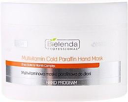 Духи, Парфюмерия, косметика Мультивитаминная маска для рук - Bielenda Professional Multivitamin Cold Paraffin Hand Mask