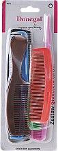 Parfumuri și produse cosmetice Set perii de păr, 9814, 6 buc. - Donegal Hair Comb