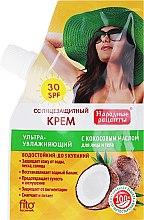 Parfumuri și produse cosmetice Cremă cu ulei de cocos SPF 30 - Fito Cosmetic Rețete populare