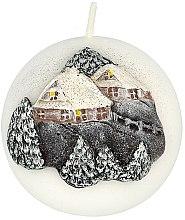 Parfumuri și produse cosmetice Lumânare aromată, 8 cm - Artman Christmas House Candle Ball
