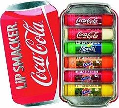Parfumuri și produse cosmetice Set balsamuri pentru buze - Lip Smacker Coca-Cola Flavored Lip Gloss Collection (balm/6x4g)