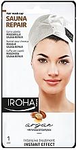 Parfumuri și produse cosmetice Mască cu abur pentru păr - Iroha Nature Sauna Repair Argan Hair Mask Cap