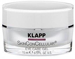 Parfumuri și produse cosmetice Gel pentru pleoape - Klapp Skin Con Cellular Eye Gel