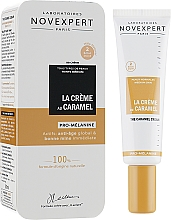 """Parfumuri și produse cosmetice BB cream pentru piele bronzată """"Caramel"""" - Novexpert The Caramel Cream Golden Glow"""