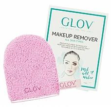 Духи, Парфюмерия, косметика Mănușă demachiantă, roz - Glov On-The-Go Makeup Remover Rose