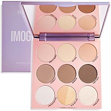 Parfumuri și produse cosmetice Paletă de machiaj - Makeup Revolution Contour Highlighting X Imogenation Highlight To The Moon