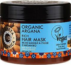 Parfumuri și produse cosmetice Mască regenerantă de păr - Planeta Organica Organic Argana Rich Hair Mask