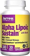 Parfumuri și produse cosmetice Suplimente nutritive - Jarrow Formulas Alpha Lipoic Sustain with Biotin 300 mg