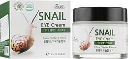 Parfumuri și produse cosmetice Cremă hidratantă cu mucină de melc pentru zona din jurul ochilor - Ekel Snail Eye Cream