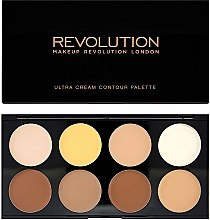 Parfumuri și produse cosmetice Corector de față - Makeup Revolution Ultra Cream Contour Palette