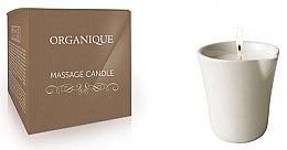 """Parfumuri și produse cosmetice Lumânare pentru masaj SPA """"Ceramica albă"""" Bambus - Organique Spa Massage Candle Bamboo (fără mâner)"""