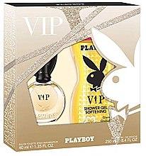 Parfumuri și produse cosmetice Playboy VIP for Her - Set (edt/40ml+sh/gel/250ml)