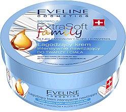 Parfumuri și produse cosmetice Cremă intensiv hidratantă și calmantă pentru față și corp - Eveline Cosmetics Extra Soft Family Cream