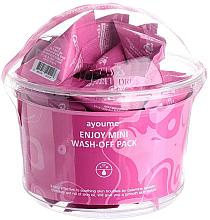 Parfumuri și produse cosmetice Mască cu pudră de calamină pentru tenul gras - Ayoume Enjoy Mini Wash-Off Pack