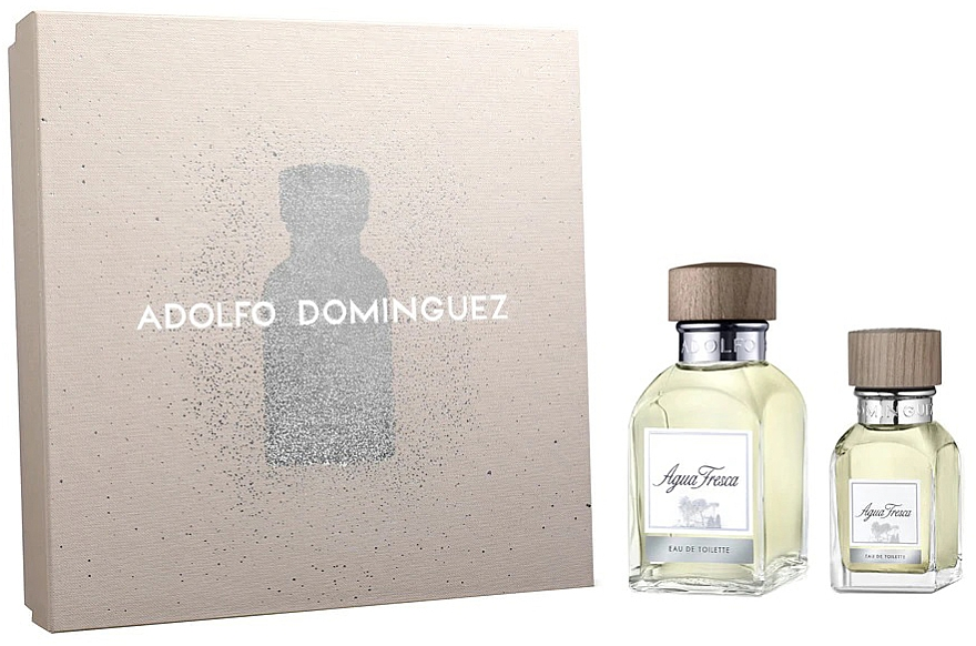 Adolfo Dominguez Agua Fresca - Set (edt/120ml + edt/30ml) — Imagine N1