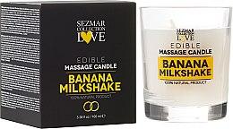 """Parfumuri și produse cosmetice Lumânare naturală pentru masaj """"Banană"""" - Hristina Cosmetics Sezmar Collection"""