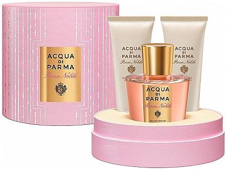 Acqua di Parma Rosa Nobile - Set (edc/100ml + sh/gel/75ml + b/cr/75ml) — Imagine N1