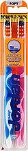 Periuță de dinți, moale Advanced, roz+albastru - Jordan Advanced Soft Toothbrush — Imagine N1