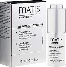 Parfumuri și produse cosmetice Ser-ulei pentru față - Matis Reponse Intensive OleaScience