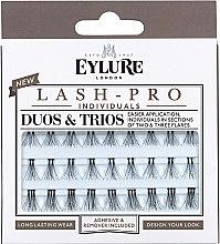 Parfumuri și produse cosmetice Extensii gene - Eylure Lash Pro Semi Permanent Eyelash Individual Duos And Trios