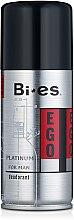 Parfumuri și produse cosmetice Deodorant spray - Bi-es Ego Platinum