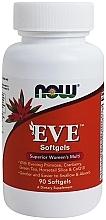 Parfumuri și produse cosmetice Capsule cu multivitamine, pentru femei - Now Foods Eve Womans Multi Softgels