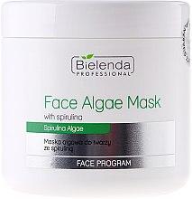 Parfumuri și produse cosmetice Mască alginată cu spirulină pentru față - Bielenda Professional Algae Spirulina Face Mask