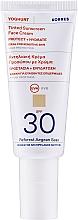 Parfumuri și produse cosmetice Cremă tonifiantă cu protecție solară pentru față - Korres Yoghurt Tinted Sunscreen Face Cream SPF30