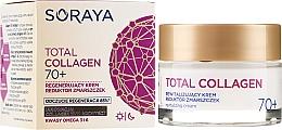 Parfumuri și produse cosmetice Cremă regeneratoare cu efect antirid 70+ - Soraya Total Collagen 70+