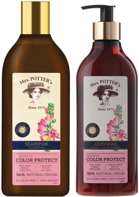 Set - Mrs. Potter's Triple Flower (shm/390ml + cond/390ml) — Imagine N2