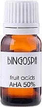 Parfumuri și produse cosmetice Ulei pe acizi din fructe AHA 50% - BingoSpa