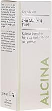 Parfumuri și produse cosmetice Очищающий флюид для жирной кожи - Alcina FM Skin Clarifying Fluid