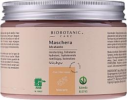 Parfumuri și produse cosmetice Mască hidratantă cu struguri roșii pentru păr - BioBotanic BioCare Hydrating Mask