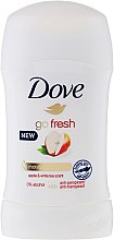 "Parfumuri și produse cosmetice Deodorant-stick ""Măr și Ceai Alb"" - Dove Go Fresh Apple & White Tea Deodorant"