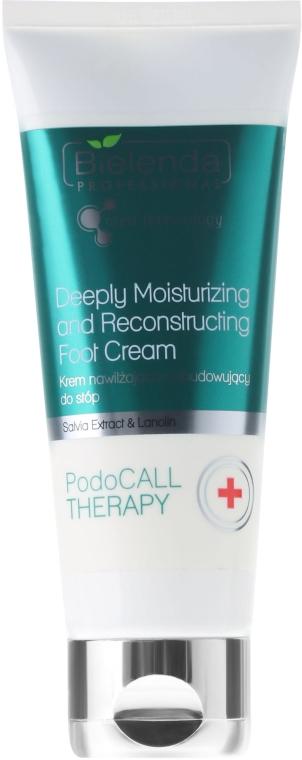 Cremă hidratantă și regenerantă pentru picioare - Bielenda Professional PodoCall Therapy Deeply Moisturizing And Reconstructing Foot Cream
