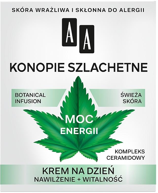 Crema de zi pentru față - AA Moc Energy Cream 30+