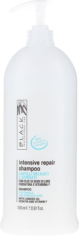 Șampon regenerant pentru păr uscat și slab - Black Professional Line Revitalising Shampoo