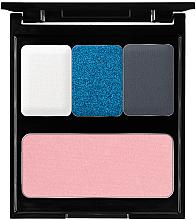 Parfumuri și produse cosmetice Paletă pentru machiaj - Pierre Rene Blue Palette Match System