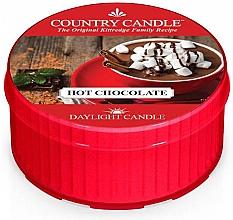 """Parfumuri și produse cosmetice Lumânare de ceai """"Ciocolată caldă"""" - Country Candle Hot Chocolate Daylight"""