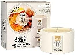 Parfumuri și produse cosmetice Lumânare parfumată - House of Glam Orange Spices Candle