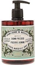 "Parfumuri și produse cosmetice Săpun lichid ""Precious Jasmine"" - Panier Des Sens Liquid Marseille Soap Precious Jasmine"
