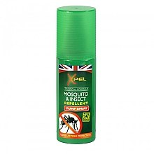 Parfumuri și produse cosmetice Spray împotriva insectelor pentru corp - Xpel Tropical Formula Mosquito & Insect Repellent Pump Spray