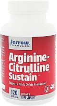 """Parfumuri și produse cosmetice Aditivi alimentari """"Arginină și citrulină"""" - Jarrow Formulas Arginine-Citrulline Sustain"""