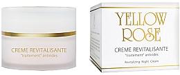 Parfumuri și produse cosmetice Cremă regenerantă de noapte pentru față - Yellow Rose Creme Revitalisante