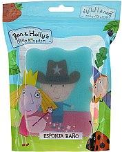 """Parfumuri și produse cosmetice Burete pentru baie """"Ben și Holly"""", Ben, șerif, albastru - Suavipiel Ben & Holly Bath Sponge"""