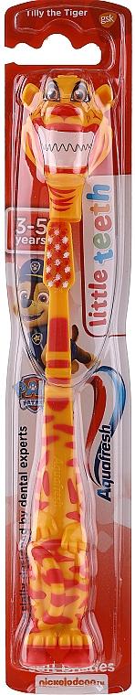 Periuță de dinți, pentru copii, tigru - Aquafresh Soft — Imagine N1