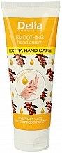 Parfumuri și produse cosmetice Cremă cu ulei de Argan pentru mâini - Delia Extra Hand Care